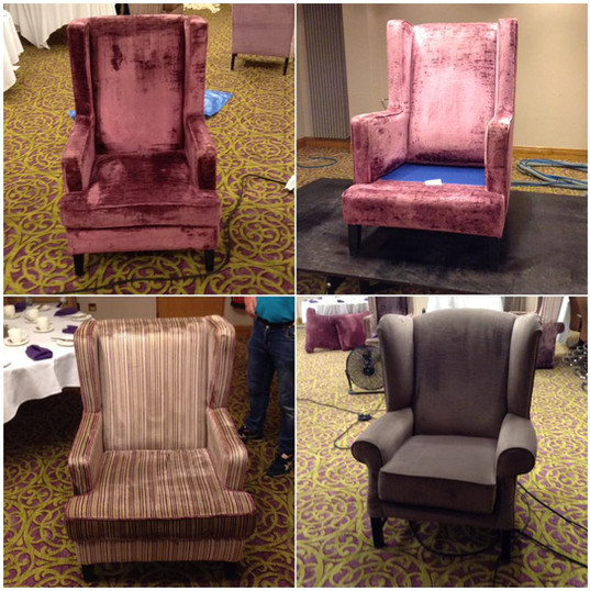 Cleaned Armchairs