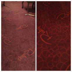 Rubys Carpet Cleaned Before & After