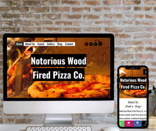 Notorious Pizza Website