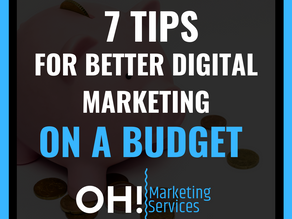 7 Budget friendly ways to help your business be found online!