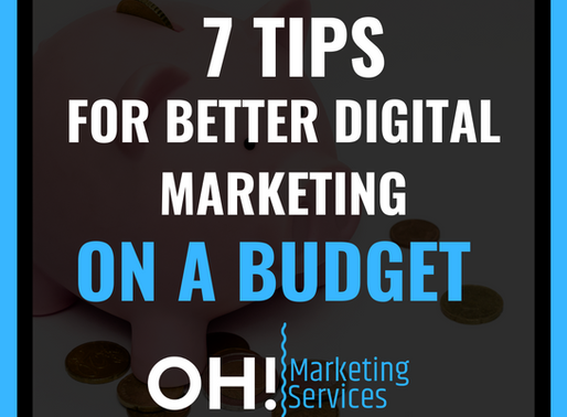 7 BUDGET-FRIENDLY WAYS TO HELP GETTING FOUND ONLINE!