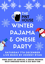 The Pint House Pajama Party