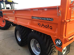 Hogg Engineering Kubota Orange Trailer R