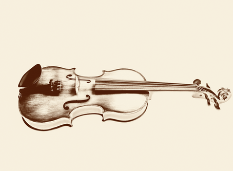 New old violin photo