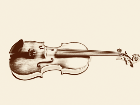 New old violin photo