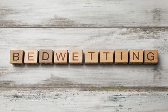 bedwetting, bed-wetting