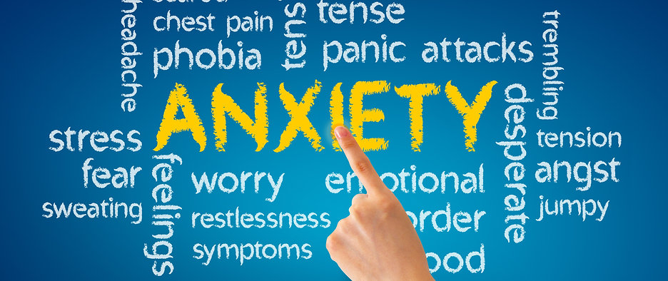 Anxiety Disorders, worry, stress, panic, fear