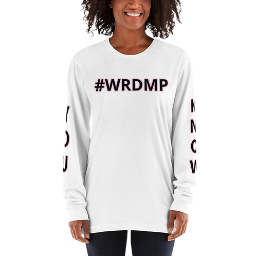 #WRDMP Long sleeve t-shirt
