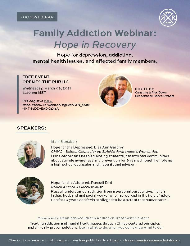 RR Family Webinar March 2021 Hope in Rec