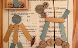 detail - play I assemblage