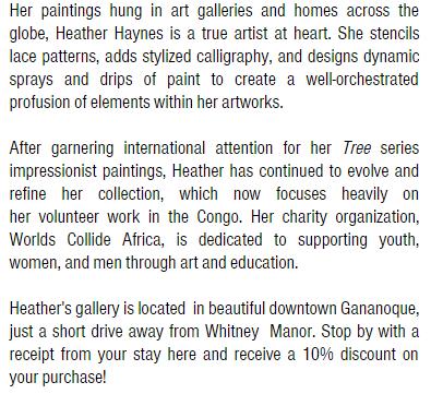 Heather Haynes Art Gallery description