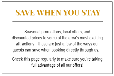 Save when you stay at Whitney Manor