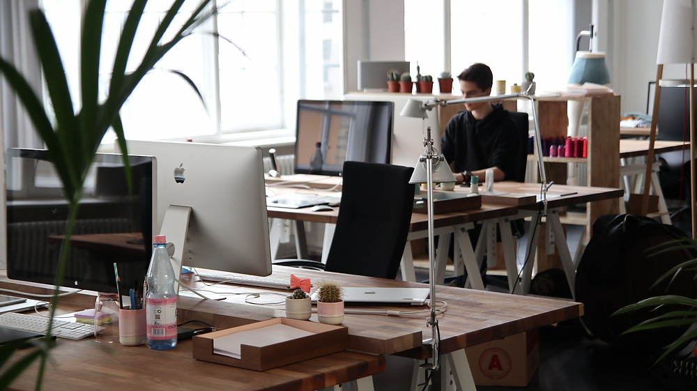 Indoor air pollution office space