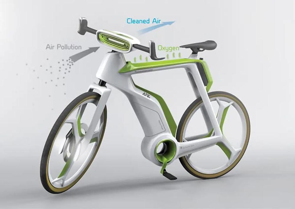 photosynthesis bike that generates oxygen