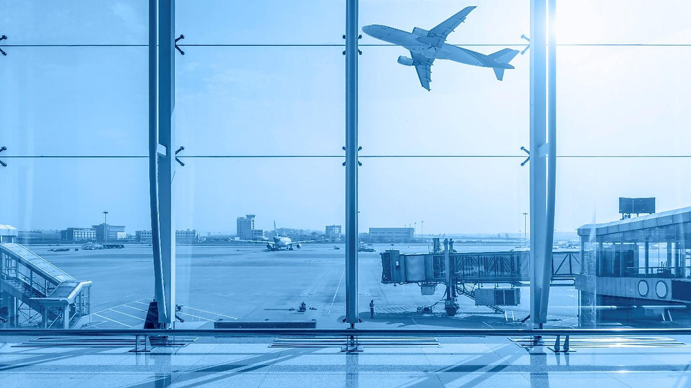 Indoor air quality airport terminal