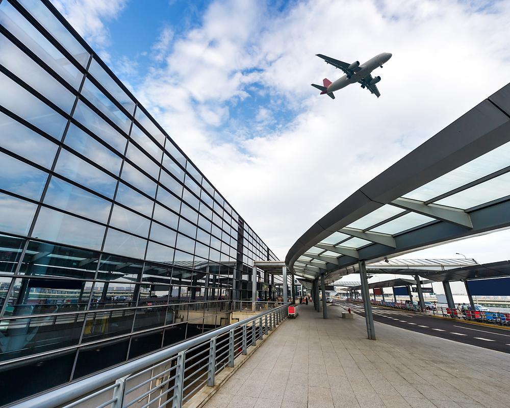 Sustainable international airport