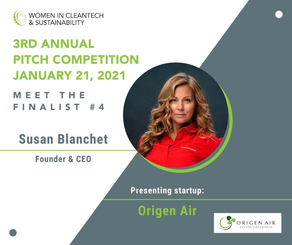 women cleantech sustainability finalist susan blanchet