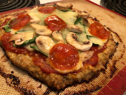 Chicken Pizza Crust