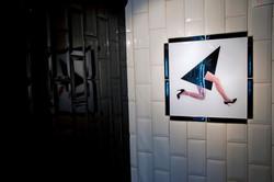 Collage Fotografien Toiletten