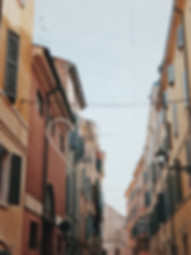 beautiful modena streets , visit the city in the emilia romagna region of Italy