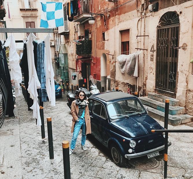 רחוב נאפולי נפולי איטליה בלוג טיולים טיפים עצות למטייל