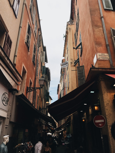 Nice Travel blog France