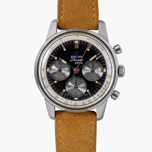 1962 Enicar  Sherpagraph MKII Chronograph