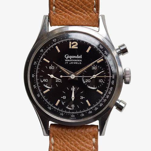 1960's Gigandet Wakmann Chronograph V72