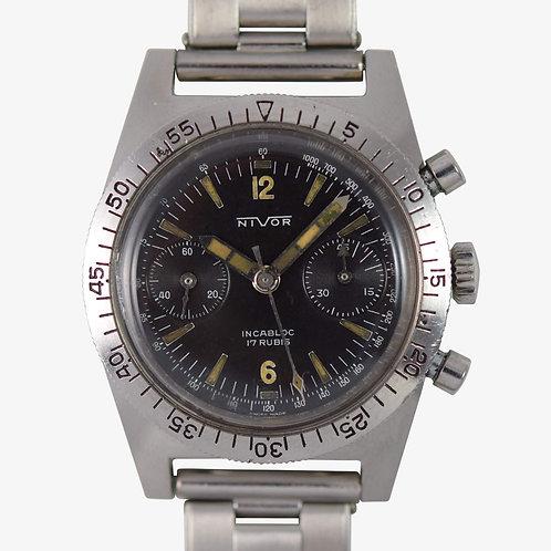 1970's Nivor Diver Chronograph V92
