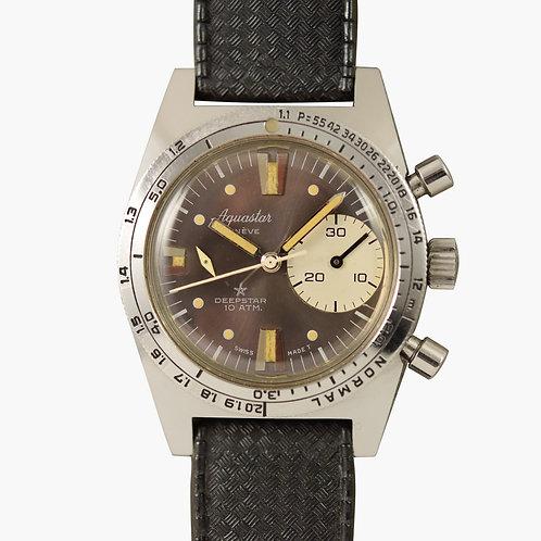 1960s Aquastar Deepstar Chronograph