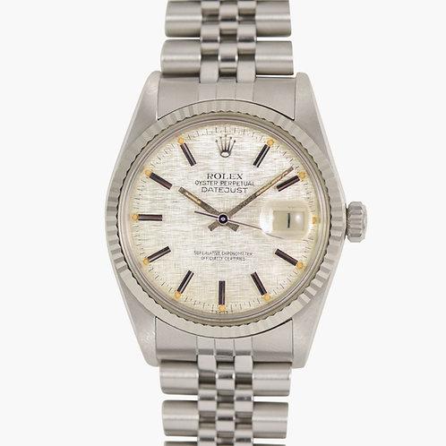 1981 Rolex Datejust Linen Dial 16014