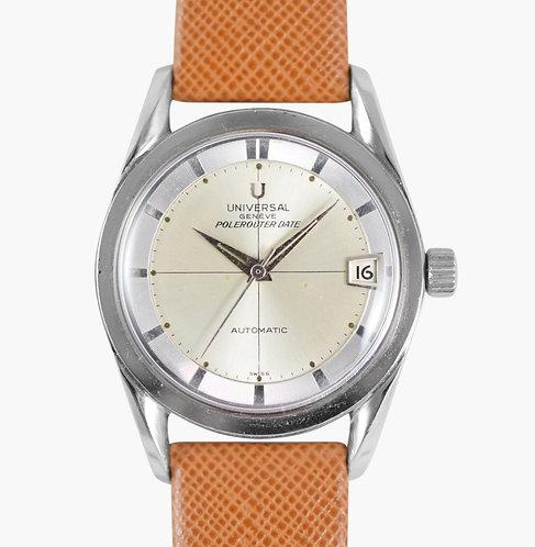 1963 Universal Genève Polerouter Date