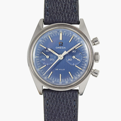 1968 Omega De Ville Blue Chronograph
