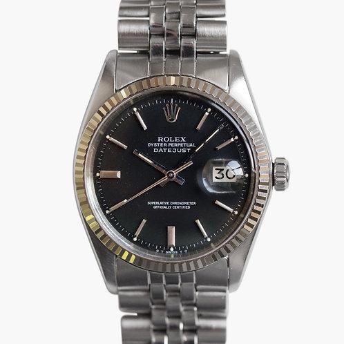 1973 Rolex Datejust 1601 Sigma Matte Black
