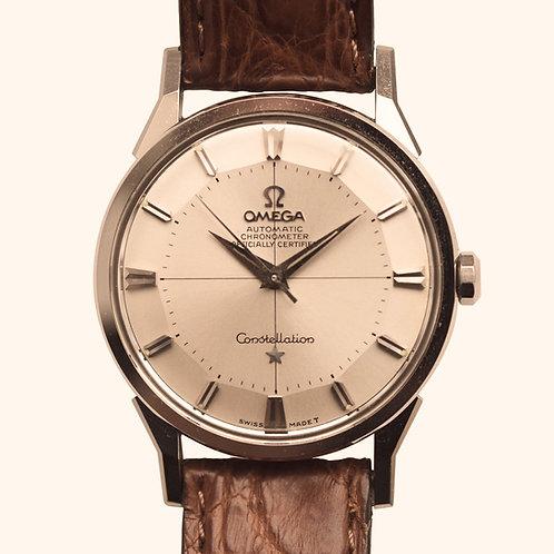 1961 Omega Constellation Pie Pan
