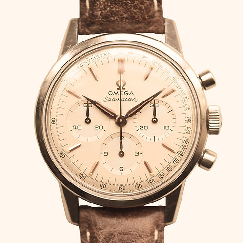 1960s Omega Seamaster 105.001 Chronograph