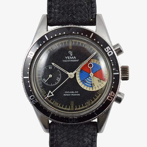 1967 Yema Yachtingraf Chronograph Valjoux 7733