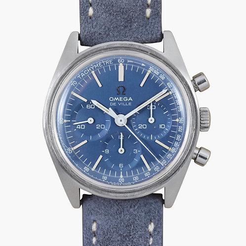 1970's Omega De Ville Blue Chronograph