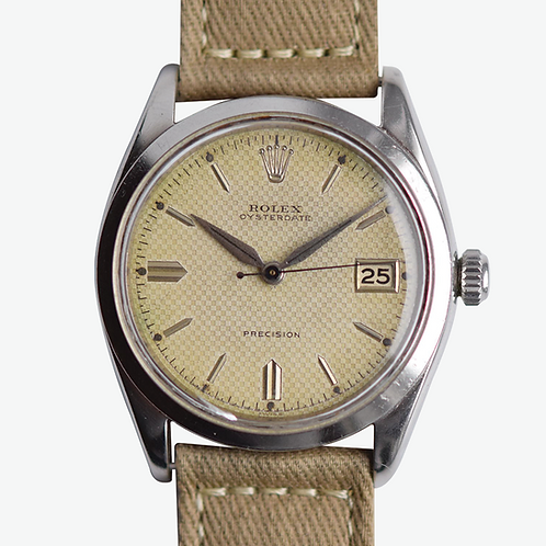 1954 Rolex Precision Honeycomb Roulette Date