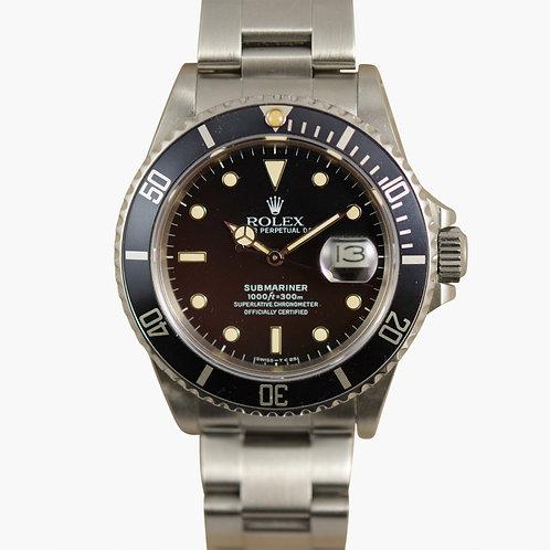 1986 Rolex Submariner 16800