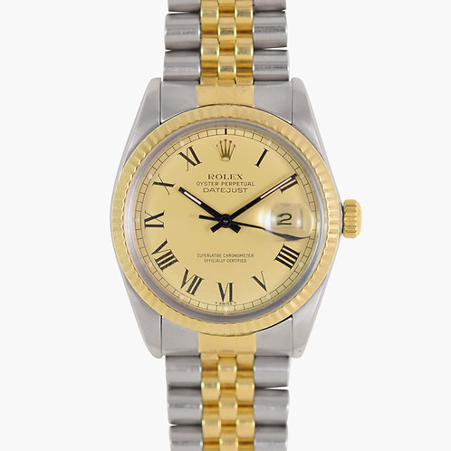 1984 Rolex Buckley Dial Datejust