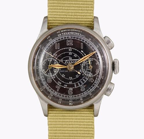 1938 Tissot Omega Watch Co. Chronograph