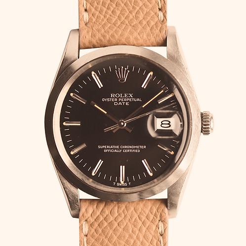 1980s Rolex 15000 Matte Black