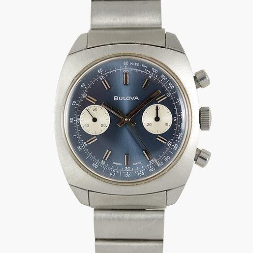 1970s Bulova 'Blue' Chronograph Ref. 31000