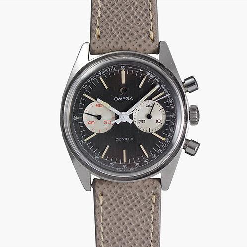 1972 Omega De Ville Grey Panda Chronograph