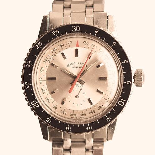 1960s Favre-Leuba Bivouac Altimeter