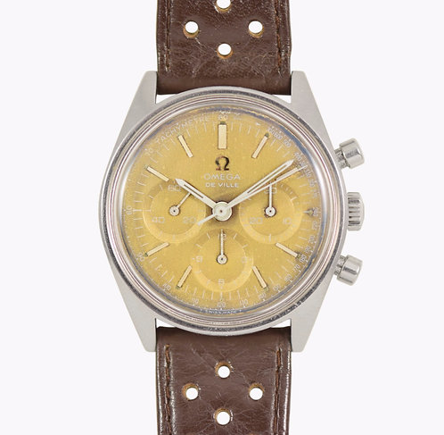 1970s Omega De Ville Chronograph Goldust Dial