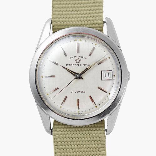 1960s Rare Eternamatic Chronometer