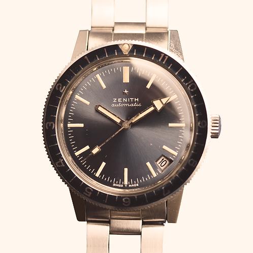 1970s LNOS Zenith Automatic diver
