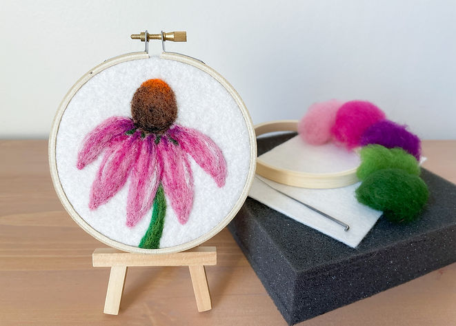 Megan Hammer Needle Felting Art Grows Wild